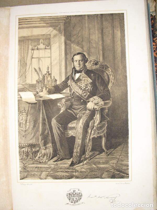 1852 LITOGRAFIA DEL TENIENTE GENERAL NARVAEZ CONDE DE YUMURI 44X31CMS (Arte - Litografías)