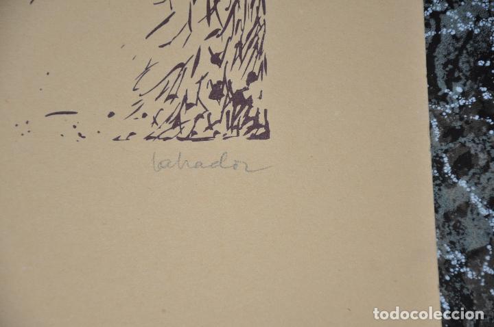 Arte: JESUS MARTINEZ LABRADOR , MÁLAGA , SERIGRAFIA ORIGINAL FIRMADA Y JUSTIFICADA - Foto 3 - 69245077