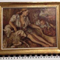 Arte: LITOGRAFIA FRANCISCO RIBERA ENMARCADA. Lote 69669473