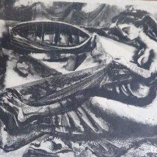 Arte: CARLOS PASCUAL DE LARA, LITOGRAFIA45X35,SIN ENMARCAR, FIRMADA, DEDICADA Y FECHADA A MANO EN 1952. Lote 69689945