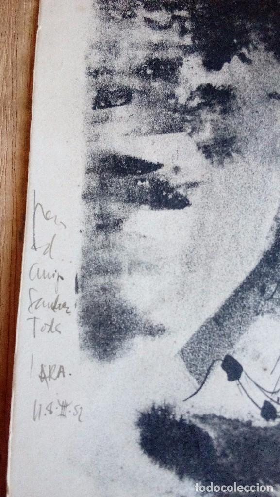 Arte: CARLOS PASCUAL DE LARA, Litografia45x35,sin enmarcar, firmada, dedicada y fechada a mano en 1952 - Foto 5 - 69689945