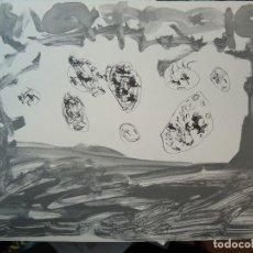 Arte: LITOGRAFÍA DE ANTÓN LLAMAZARES FIRMADA Y NUMERADA.. Lote 70169057
