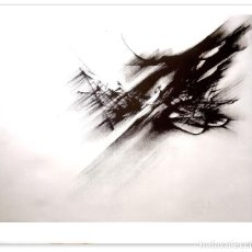 Arte: FERNANDO ZOBEL. ORNITÓPTERO. 82X66 CM. Lote 228328375