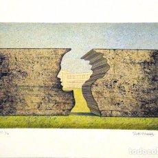 Arte: LITOGRAFÍA ORIGINAL DE JOSEP MARIA SUBIRACHS, FIRMADA Y NUMERADA. Lote 72074551