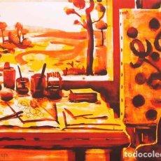 Arte: LITOGRAFÍA ORIGINAL DE XANO ARMENTER, FIRMADA Y NUMERADA. Lote 72783435