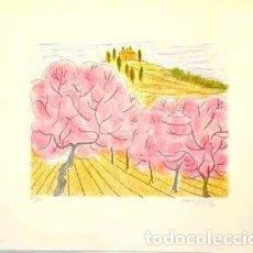 Arte: LITOGRAFÍA ORIGINAL DE MARIA GIRONA, FIRMADA Y NUMERADA. Lote 72783839