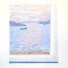 Arte: LITOGRAFÍA ORIGINAL DE MARIA GIRONA, FIRMADA Y NUMERADA. Lote 72784147