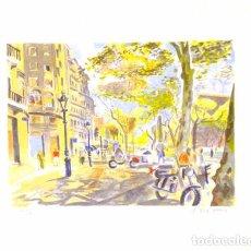 Arte: LITOGRAFÍA ORIGINAL DE JOSEP SERRA LLIMONA, FIRMADA Y NUMERADA. Lote 72924287