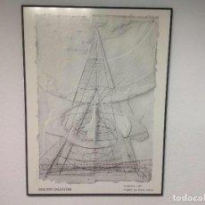 Arte: WALTER VALENTINI 1991 PURGATORIO 13583-COPYRIGHT. Lote 73279087