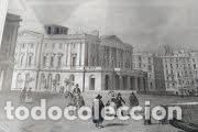 Arte: NICOLAS CHAPUY, BARCELONA , Plaza Palacio Real. 1844 - Foto 6 - 73571419