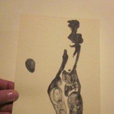Arte: ANTIGUA LITOGRAFIA ORIGINAL, FIRMADA Y NUMERADA. Lote 74593615