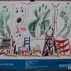 Arte: CARTEL EXPOSICIÓN PICASSO, SERIE CALIFORNIE. Lote 75868511