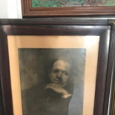 Arte: LITOGRAFÍA , PAU CASALS RETRATO POR EUGENE CARRIERE 1903. . Lote 76440811