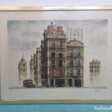 Arte: ARNAU ALEMANY , LITOGRAFIA FIRMADA NUMERADA , ENMARCADA. Lote 190111491