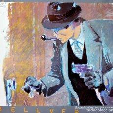 Arte: FERNANDO BELLVER CARTEL ORIGINAL 71X68CM. AÑOS 80.. Lote 77473805