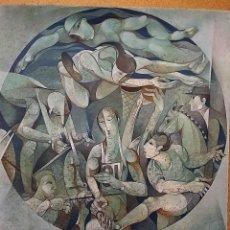 Arte: JORDI ALUMA BARCELONA 1924 SERIE OLIMPICA 68X49. Lote 78831501