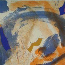 Arte: GUINOVART, BARCELONA, 1927-2007 LITOGRAFIA ESTAMPADA PARA EL 20 ANIVERSARIO DEL TUNEL DEL CADÍ. Lote 80965468