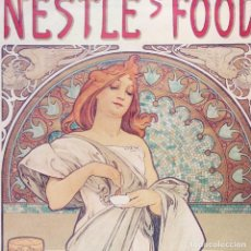 Arte: GRAN CARTEL NESTLÉ'S FOOD FOR INFANTS. 78X38CM. NUEVO. Lote 78221069