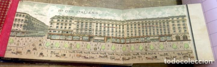 Arte: Paris : les boulevards lavenue de opera & la rue de la Paix illustre?s.Siglo XIX, rarisimo, leer - Foto 2 - 81734124