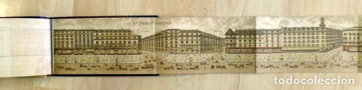 Arte: Paris : les boulevards lavenue de opera & la rue de la Paix illustre?s.Siglo XIX, rarisimo, leer - Foto 7 - 81734124