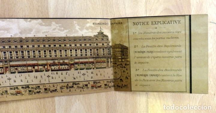 Arte: Paris : les boulevards lavenue de opera & la rue de la Paix illustre?s.Siglo XIX, rarisimo, leer - Foto 21 - 81734124