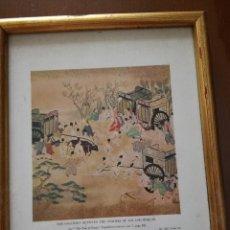 Arte: LITOGRAFÍA INGLESA, MOTIVO JAPONÉS .. Lote 83005368