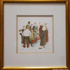 Arte: FANTASTICA OBRA - MICHELE LEHMANN - FIRMADO Y NUMERADO. Lote 84711444