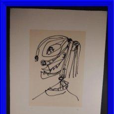 Arte: LITOGRAFIA DE ANTONIO SAURA MUJERES CON SOMBRERO AGUAFUERTE Y AGUATINTA. Lote 84929928