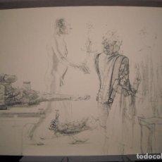 Arte: LITOGRAFIA DE ANTONIO LOPEZ GARCIA - FABULA (GALERIA DE ARTE CONTEMPORANEO). Lote 103767355