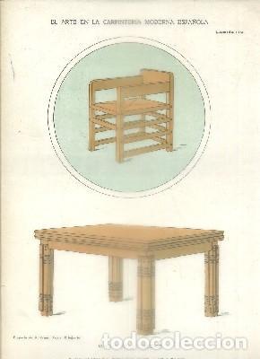 litografia de carpinteria modernista: mesa y si - Kaufen ...