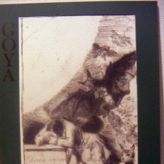 Arte: CARPETA DE 6 REPRODUCCIONES DE LOS CAPRICHOS DE GOYA 1976. Lote 85346028