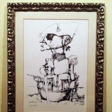 Arte: CUADRO LITOGRAFÍA DEL PINTOR JOSEP PEPE NOVELLAS. Lote 87039400