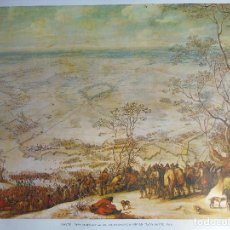 Arte: LITOGRAFÍA. SIEGE OF AIRE - SUR - LA LYS. SNAYERS. MUSEO DEL PRADO. MADRID. Nº 5476. Lote 87512448