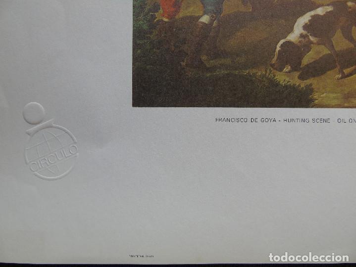 Arte: LITOGRAFÍA. HUNTING SCENE. FRANCISCO DE GOYA. MUSEO DEL PRADO. MADRID. SPAIN. - Foto 2 - 87534764