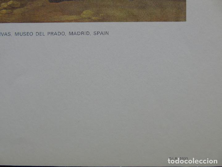 Arte: LITOGRAFÍA. HUNTING SCENE. FRANCISCO DE GOYA. MUSEO DEL PRADO. MADRID. SPAIN. - Foto 4 - 87534764