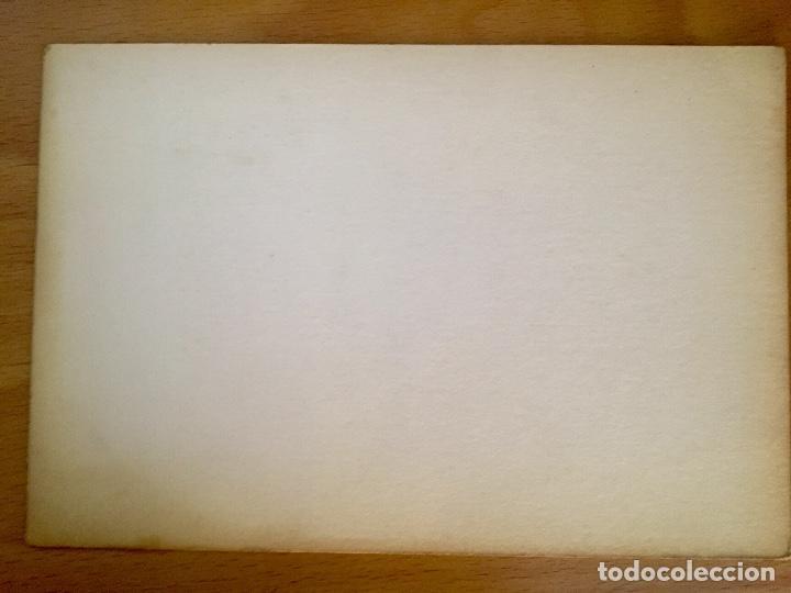 Arte: Dibujo litografico pavos reales original pintor Alfredo Enguix lamina 80/250 20x13,5 cm - Foto 5 - 88857864