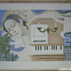 Arte: FRANCÉS VILASIS CAPALLEJA LITOGRAFÍA DE ACUARELA. Lote 89065923