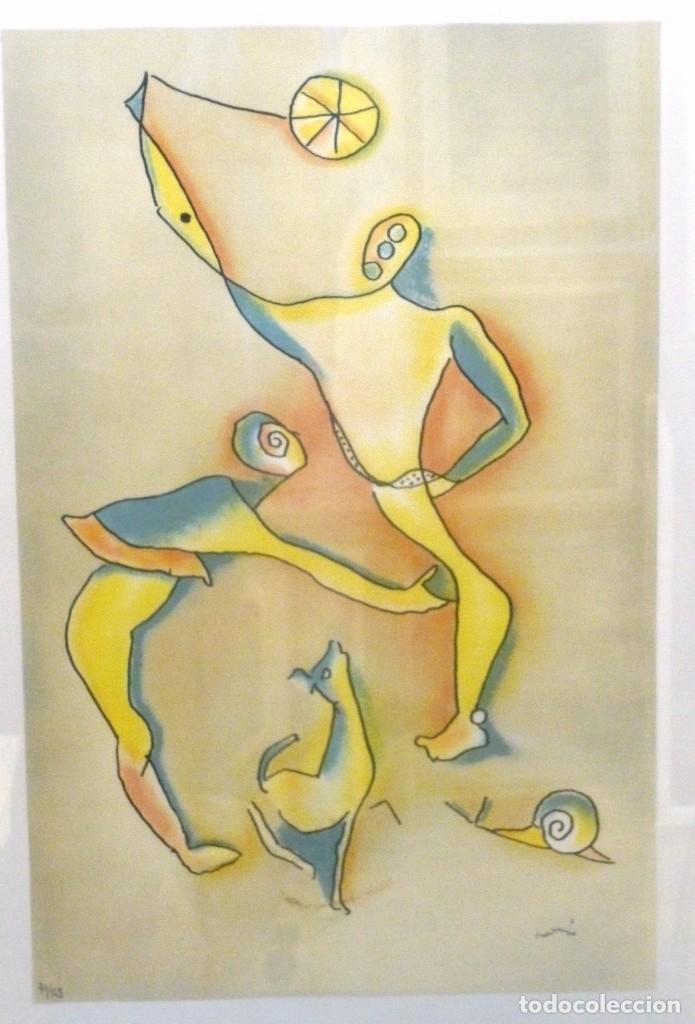 LITOGRAFÍA DE JULI RAMIS (Arte - Litografías)