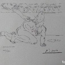 Arte: PICASSO. SUITE VOLLARD, LITOGRAFÍA DE 1973.. Lote 98508990