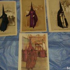 Arte: 3 LITOGRAFÍAS DE COFRADÍAS DE SEVILLA. .. Lote 92242153