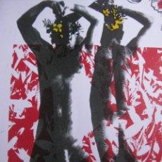 Arte: LITOGRAFIA ORIGINAL FIRMADA ART GAY ARTIST POP DECORACION AB. PINAZO RARA PT O PI. Lote 92435395