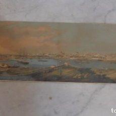 Arte: (M) MAHON ( MENORCA ) ANTIGUA LITOGRAFIA VISTA GENERAL , MAHON DEL NATURAL POR FONT Y VIDAL 1880 . Lote 125376055