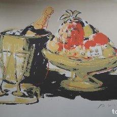 Arte: AGUSTI PUIG LITOGRAFÍA NUMERADA Y FIRMADA. Lote 93576515