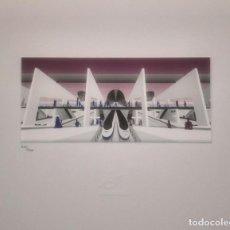 Arte: 25 ANIVERSARIO AVE. LITOGRAFÍA DE GONZÁLEZ CRUZ. EDICIÓN DE COLECCIONISTA. Lote 94085965