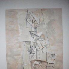 Arte: PABLO PICASSO. LITOGRAFIA FIRMADA Y NUMERADA A MANO EN EDICION LIMITADA. COLECCION MARINA PICASSO.. Lote 105872646