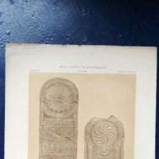 Arte: LITOGRAFIA CIPOS ROMANOS FIGURANDO ARCOS DE HERRADURA.. Lote 94275552