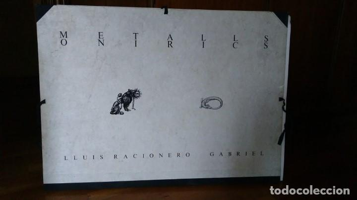 Arte: LUIS RACIONERO Y GABRIEL - METALLS ONIRICS - 4 GRABADOS FIRMADOS, EJ. H.C. - Foto 2 - 96766575