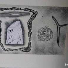 Arte: LUIS RACIONERO Y GABRIEL - METALLS ONIRICS - 4 GRABADOS FIRMADOS, EJ. H.C.. Lote 96766575