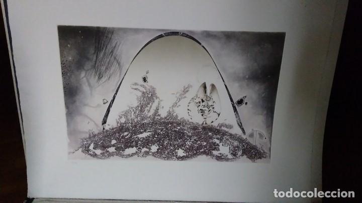 Arte: LUIS RACIONERO Y GABRIEL - METALLS ONIRICS - 4 GRABADOS FIRMADOS, EJ. H.C. - Foto 11 - 96766575