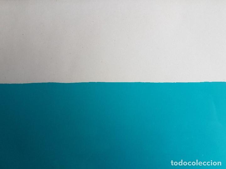 Arte: Litografia enmarcada del pintor Antonio Alegre Cremades, firmada y numerada, 78/100. - Foto 8 - 96969059